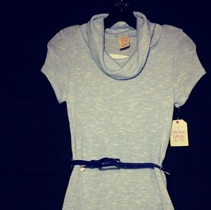 Faded Glory Sweater w\ belt